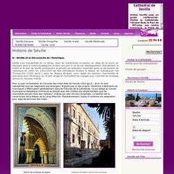 Histoire de Séville: Séville et la Découverte de l'Amérique