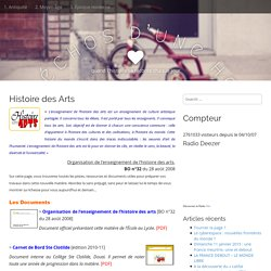 Histoire des Arts – Les échos d'une heure
