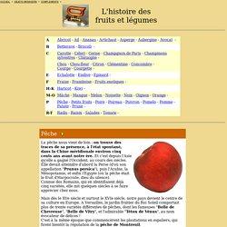 Histoire des fruits et légumes (P)