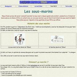 HISTOIRE DES SOUS MARIN