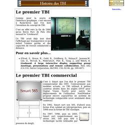Histoire des TBI