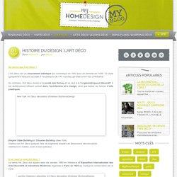 Histoire du design : l'Art Déco » MyHomeDesign