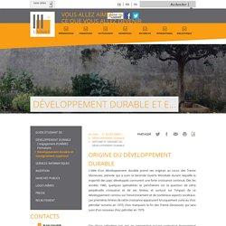 Histoire et origines du Développement Durable - Nimes