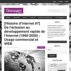 Histoire d'Internet #7 - De l'éclosion au développement de l'Internet