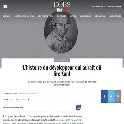 L'histoire du développeur qui aurait dû lire Kant