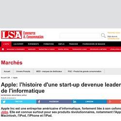 Apple: l'histoire d'une start-up devenue... - Marché Multimédia