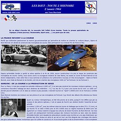 Histoire du Djet - 1964