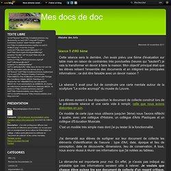 Histoire des Arts - Séance 5 d'IRD 6ème - Documents pour…