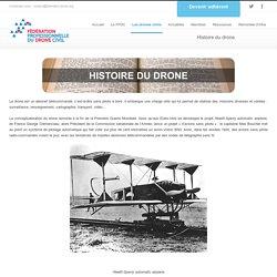 Histoire du drone