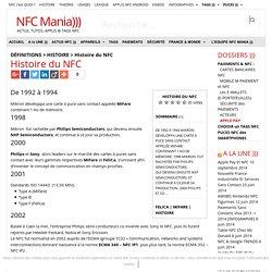 Histoire du NFC #