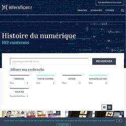 Histoire du numérique