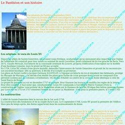 HISTOIRE DU PANTHEON