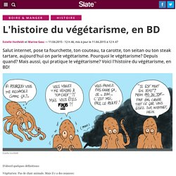 L'histoire du végétarisme, en BD