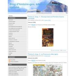 Blog d'histoire-géo, éducation civique, Haddak - Designed by thèmes dotclear 2