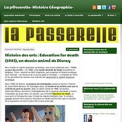 Histoire des arts : Education for death (1943), un dessin animé de Disney - La p@sserelle -Histoire Géographie-