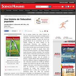 Une histoire de l'éducation populaire - Solenn Carof, article Éducation