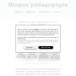 Histoire des Arts 4ème # La Tour Eiffel - Blogue pédagogique