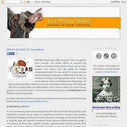 Histoire du tricot (1) - les origines