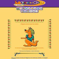 histoire pour les enfants : l'Egypte ancienne
