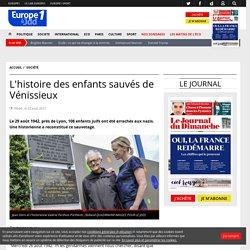 L'histoire des enfants sauvés de Vénissieux