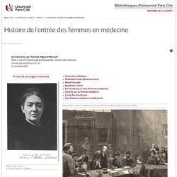 Histoire de l'entrée des femmes en médecine — Medica — BIU Santé, Paris