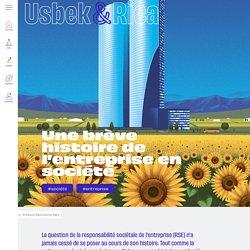 Usbek & Rica - Une brève histoire de l'entreprise en société