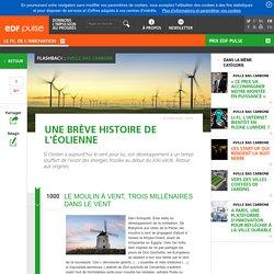 Une brève histoire de l'éolienne