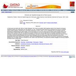 REVUE DE MEDECINE VETERINAIRE - DECEMBRE 2002 - Histoire de l'épidémiologie de la fièvre jaune