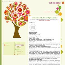 histoire des arts, Ernest Pignon Ernest - art à pagnol