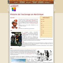 Histoire de l'esclavage et son abolition en Martinique