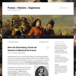 France – Histoire – Espérance
