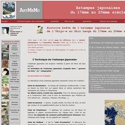 Histoire brève de l'estampe japonaise par ARTMEMO