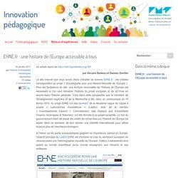 EHNE.fr : une histoire de l'Europe accessible à tous