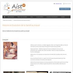 AIST 89 - Histoire et Evolution de la Santé au travail