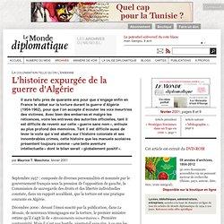 L'histoire expurgée de la guerre d'Algérie, par Maurice T. Maschino