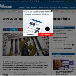 1929-2008: quand l'histoire financière se répète