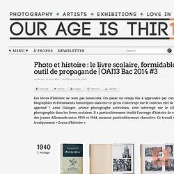Photo et histoire : le livre scolaire, formidable outil de propagande