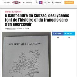 Faire de l'histoire et du français sans s'en apercevoir