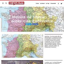 Histoire de France : 10 dates-clés à connaître