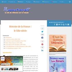 Histoire de la France : le XXe siècle