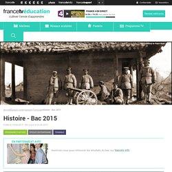 Histoire - Bac 2015