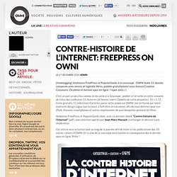Contre-histoire de l'Internet: FreePress on OWNI » Article » OWNI, Digital Journalism