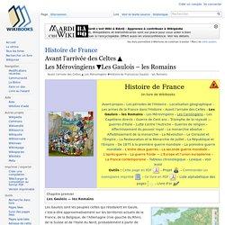 Histoire de France/Les Gaulois – les Romains