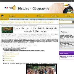 Site Histoire-Géographie Académie de la Guyane