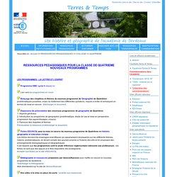 Site d'Histoire et Géographie de l'Académie de Bordeaux