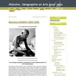 Histoire, Géographie et Arts pour tous » Blog Archive » Mahatma GANDHI (1869-1948)