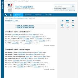 Fonds de cartes-Histoire-géographie-Éduscol