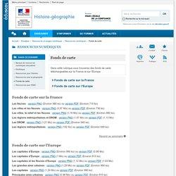 Fonds de carte-Histoire-géographie-Éduscol