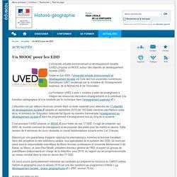 Formation des enseignants_Un MOOC pour les EDD-Histoire-géographie_MOOC_Éduscol