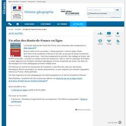 Un atlas des Hauts-de-France en ligne-Histoire-géographie-Éduscol